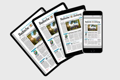 Tablet/Smartphone für BZ-Digital Premium-Abonnenten